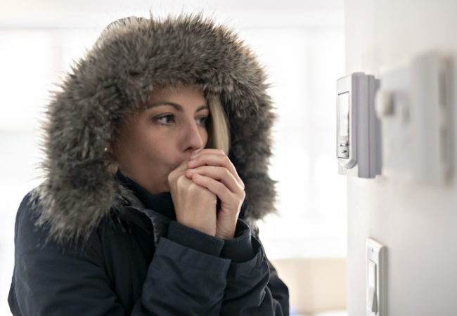 NewACUnit.com | Women wearing a winter jacket
