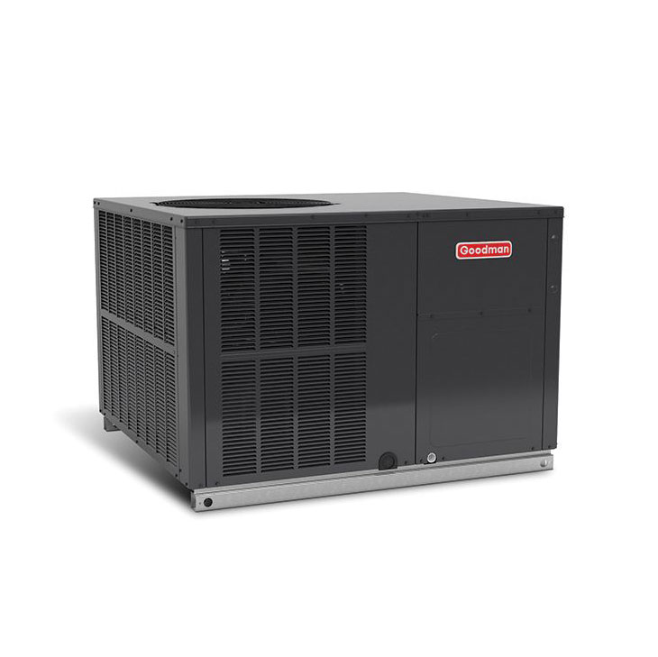 Goodman 5 Ton 16 Seer Two Stage Package Heat Pump Multi Position